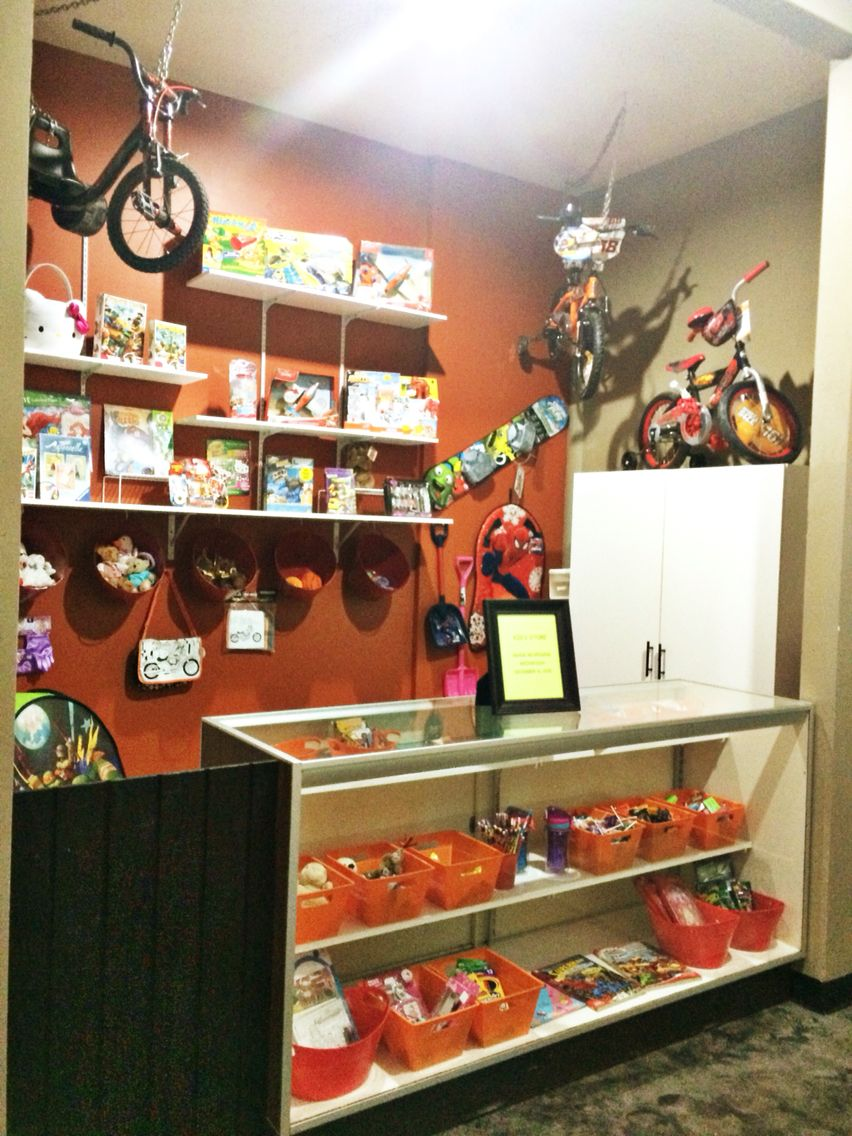 Youth Ministry Rooms: This Children's Church Store Is A Rewards Store. Children
