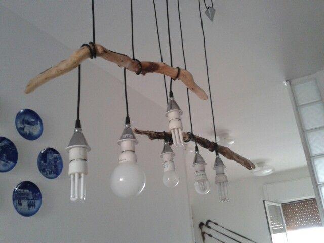 Lampadario legni di mare my works ceiling lights home for Legni di mare arredamento