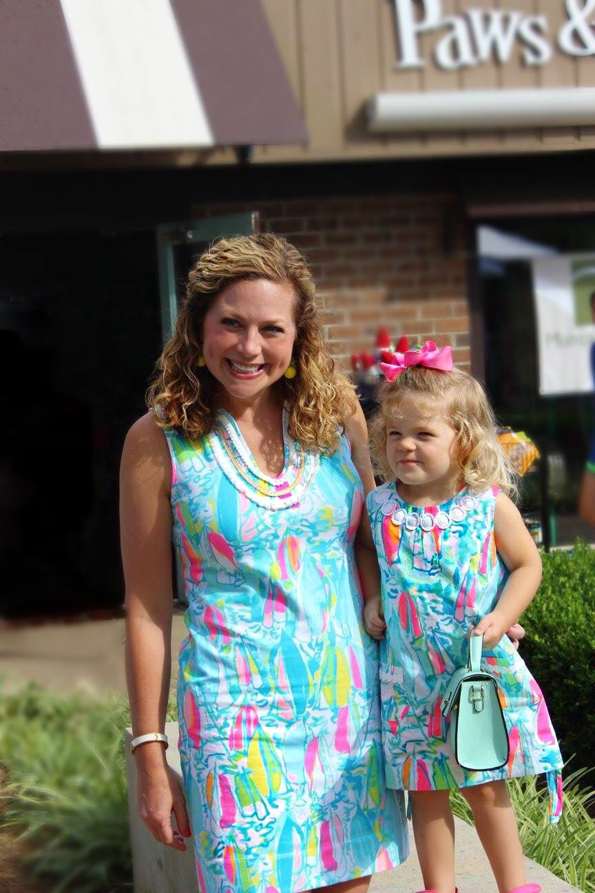 9dd1191d9e08f2 LILLY PULITZER MOMMY AND MINNIE BEACH AND BAE SUMMER 2017 HARPER SHIFT DRESS  LILLY LILLY CLASSIC SHIFT