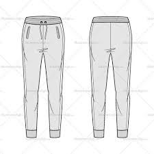 Image Result For Sweat Pants Technical Drawing With Images