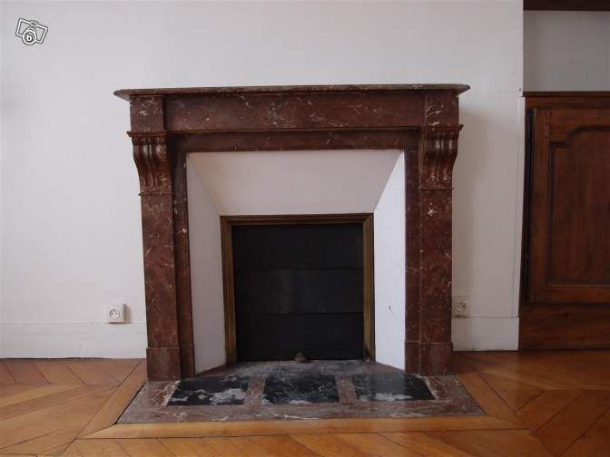 cheminee 1900. Black Bedroom Furniture Sets. Home Design Ideas