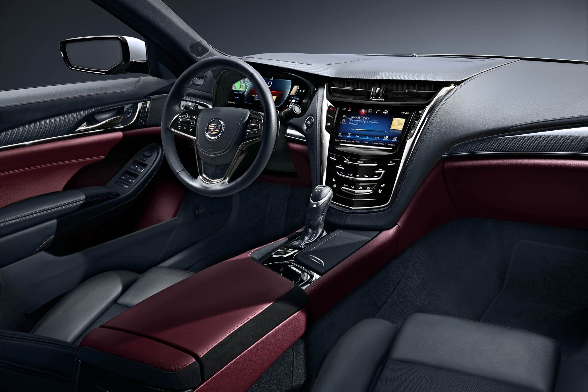 Cadillac Cts Interior Design  Httphdcarwallfxcomcadillac Cts