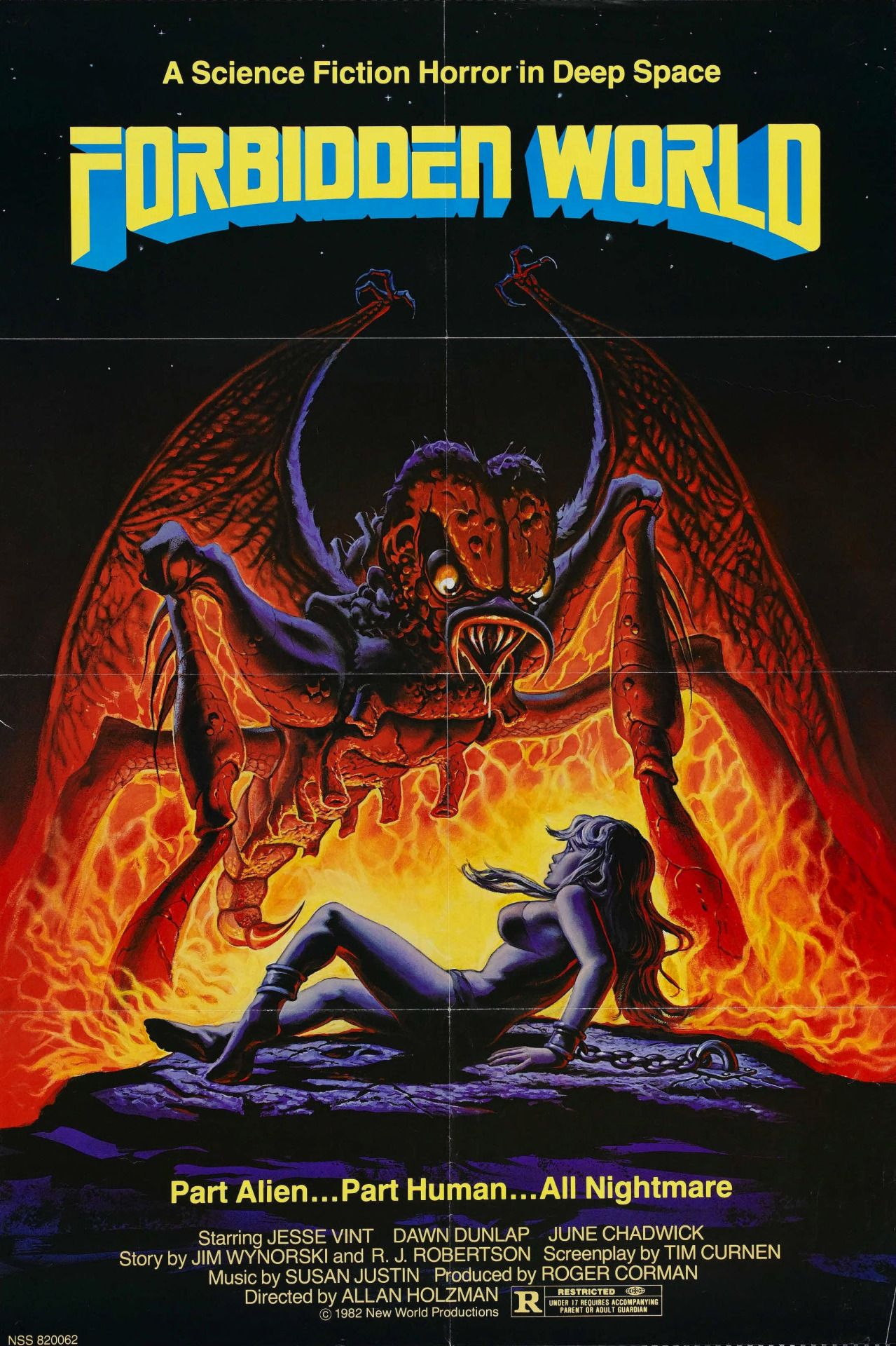 Forbidden World (1982) Science fiction movie posters