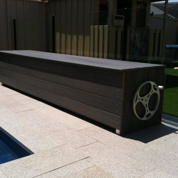 Bench Seat Storage Systems In Perth Pool Cover Pool Cover