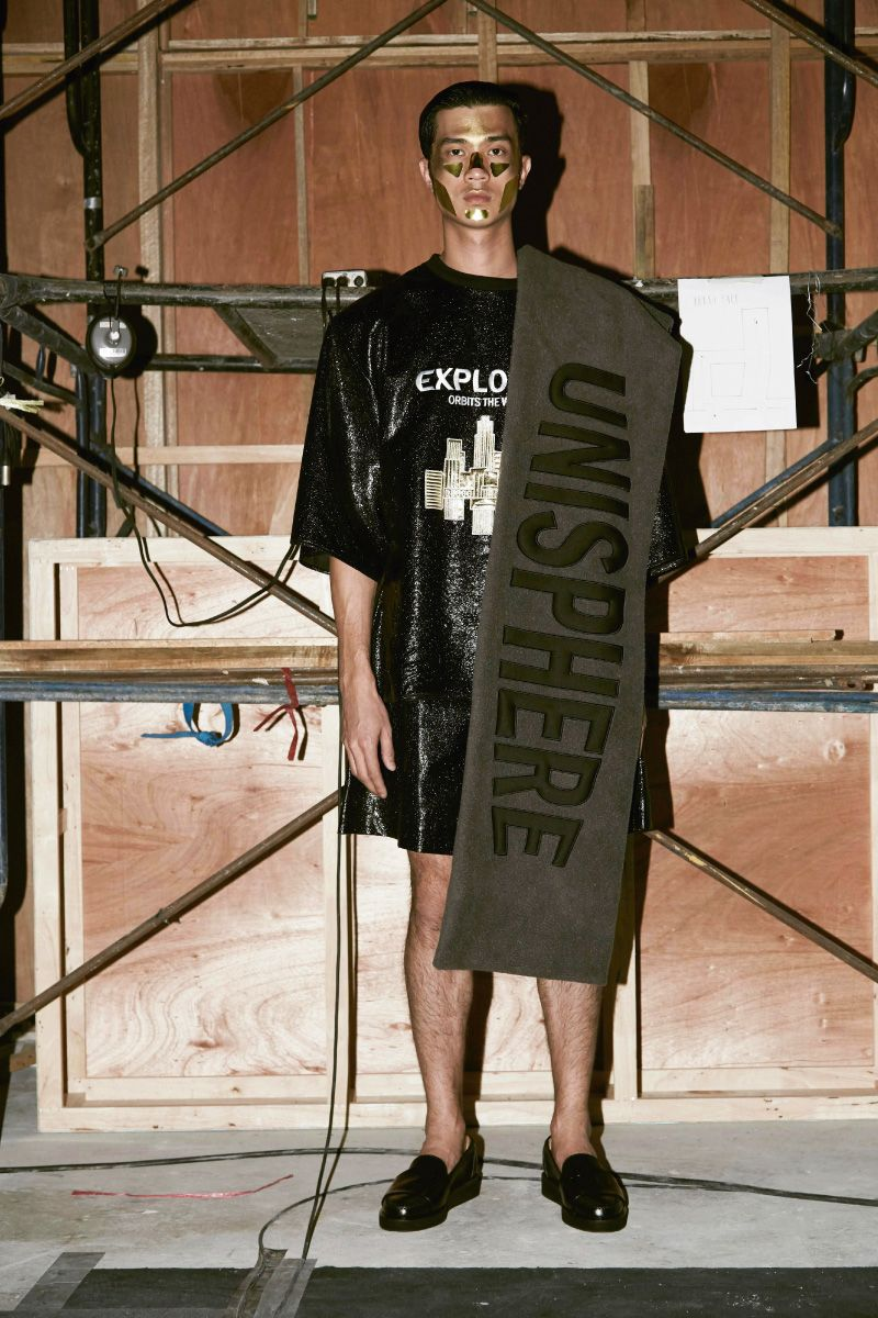 Bangkok based label Q DESIGN AND PLAY unveiled its latest collection,  titled UNISPHERE.