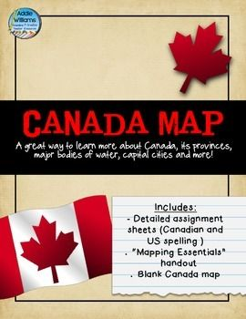 canada map assignment free gr 3 social studies geography lessons geography of canada. Black Bedroom Furniture Sets. Home Design Ideas
