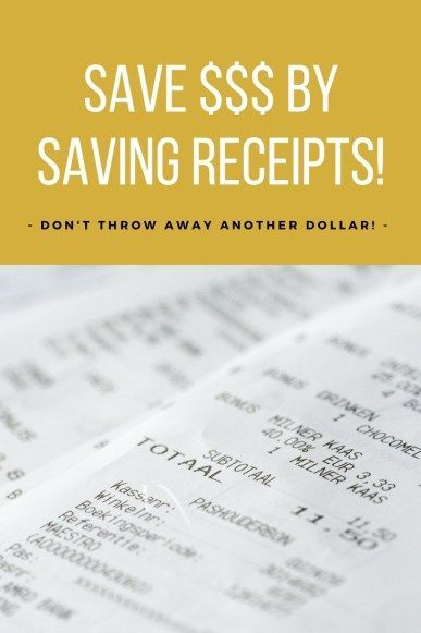 The New and Smarter Way to Shop \ Save Donu0027t Throw Away Those - money receipts