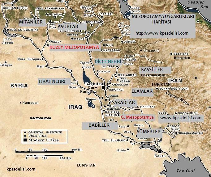 mezopotamya medeniyetleri