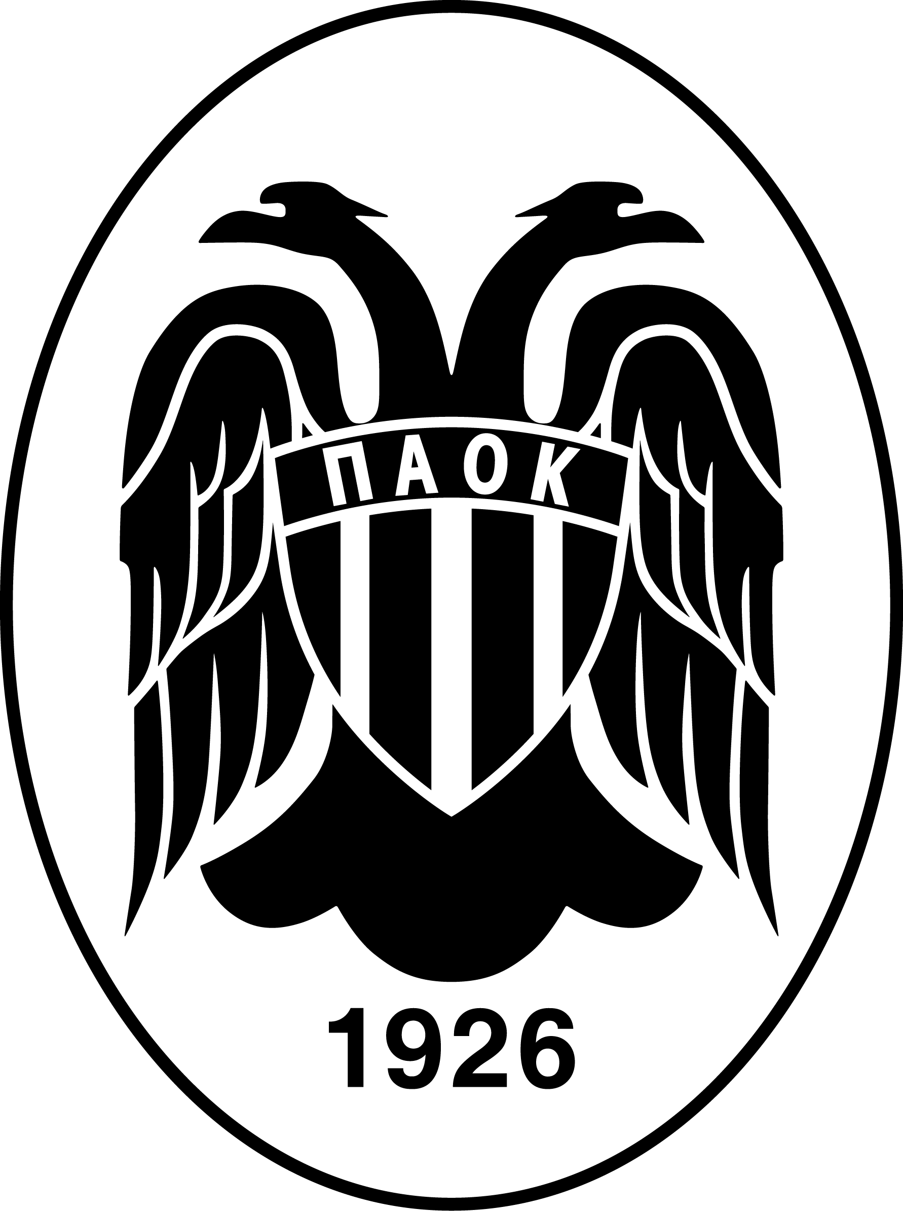 paok thessaloniki football logos pinterest logos