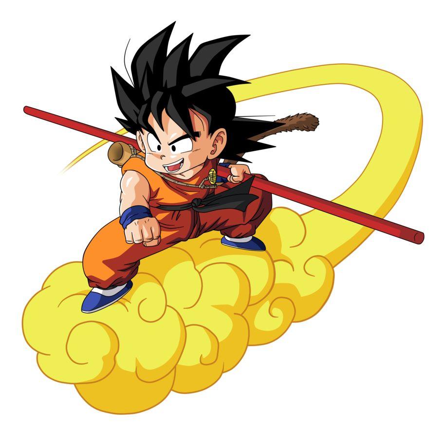 Goku Chico Kinton Dragon Ball Artwork Kid Goku Dragon Ball