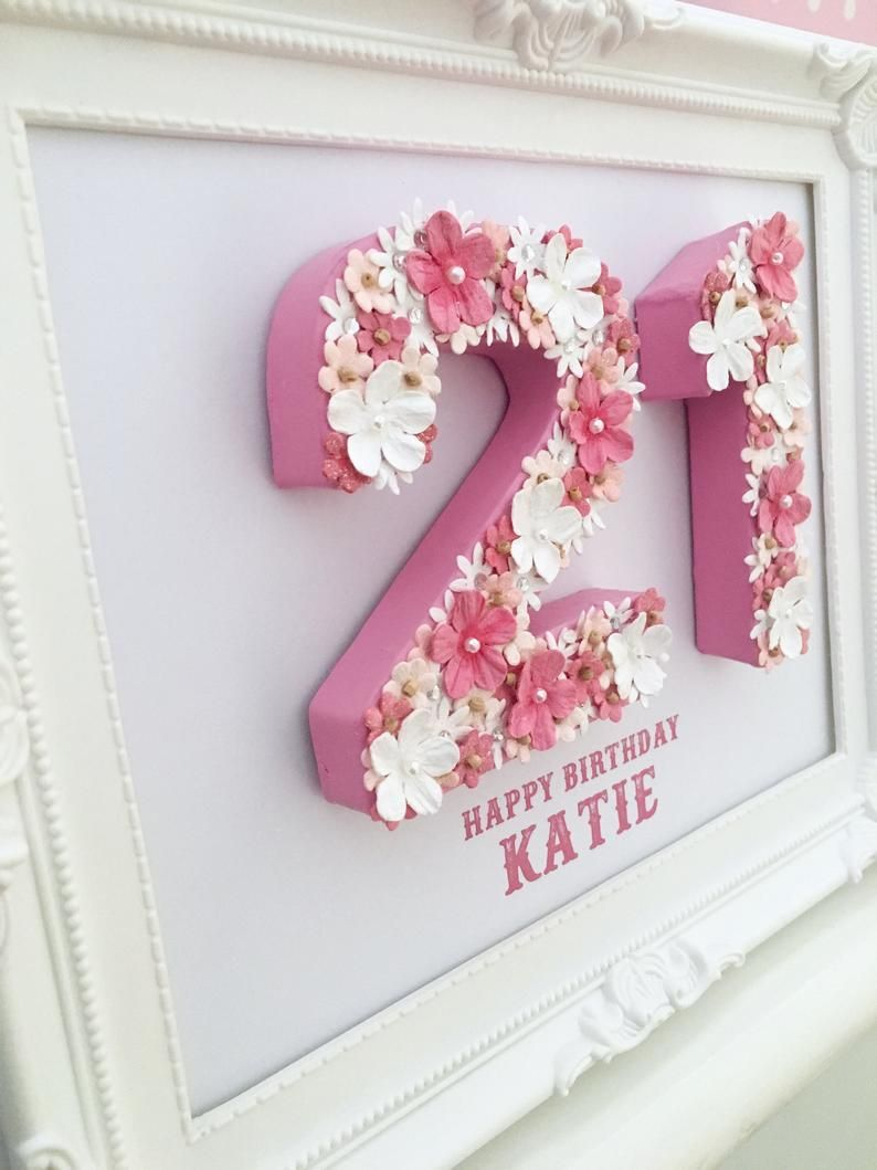 Personalised 21st birthday gift, 21st birthday keepsake