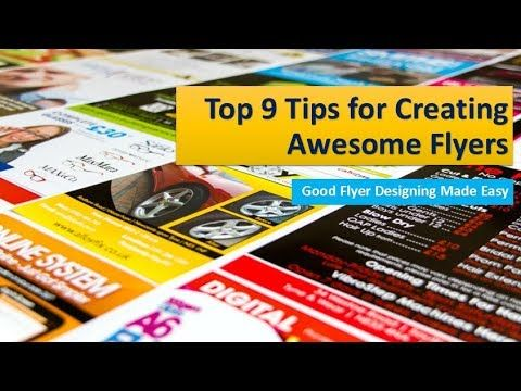 Top 9 Tips to Make a Professional Business Flyer Design Flyer