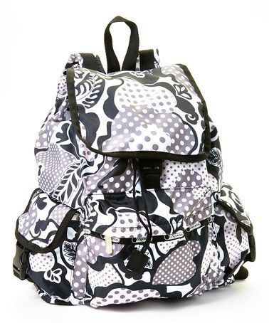 Take a look at this Dapple Flower Voyager Backpack on zulily today!