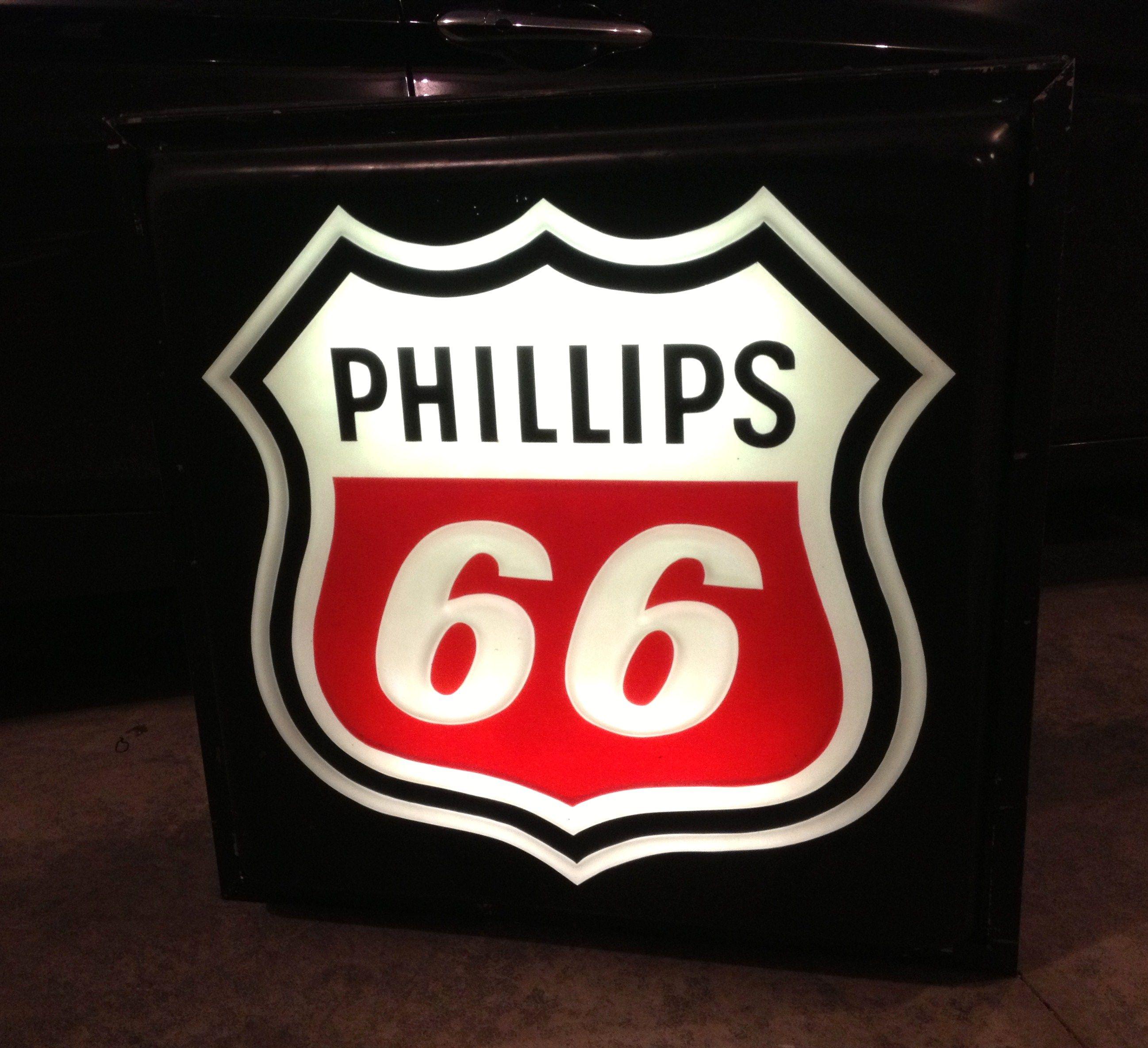 Phillips 66 Oil Vintage Style Porcelain Signs Gas Pump Man Cave Station