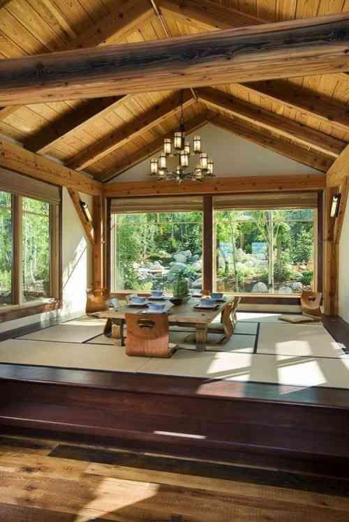 salon zen une ancienne culture au design tr s moderne deco int rieur maison maison. Black Bedroom Furniture Sets. Home Design Ideas