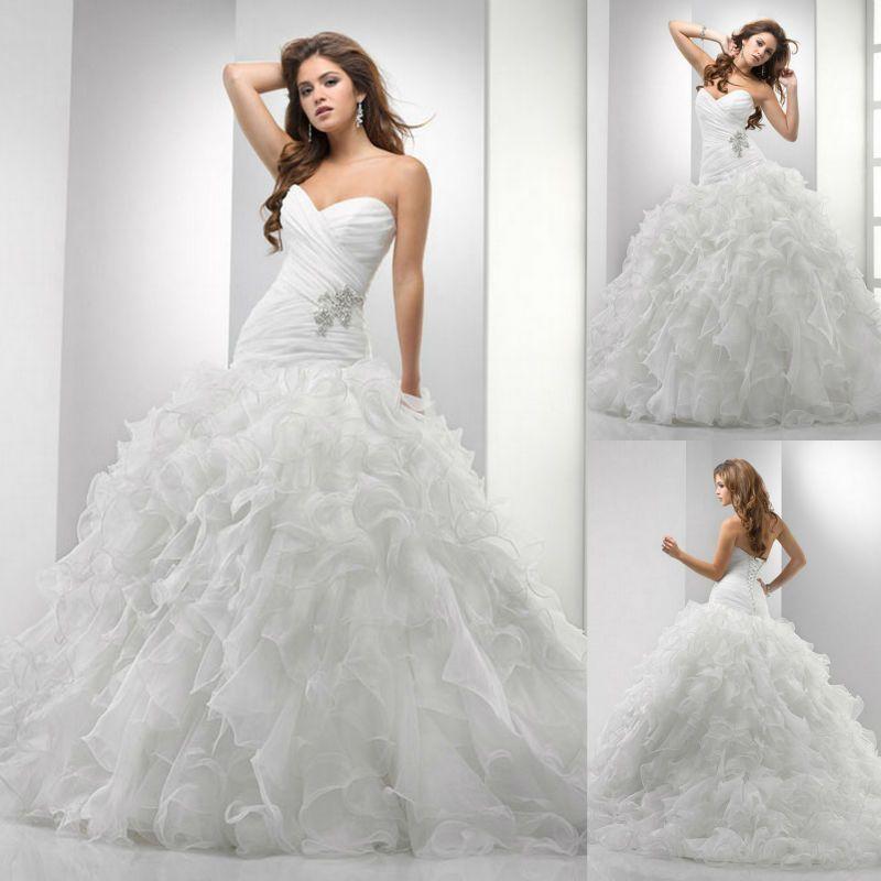White Brides Princess Dress