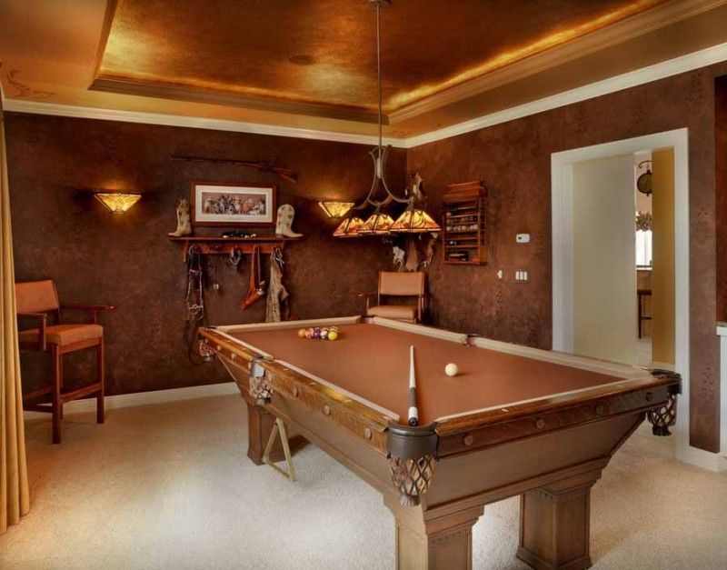 21+) Pool Table Room Ideas | Pool table room, Pool table and Room ...