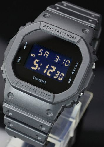 04f3c61a3fd RARE Japonese Limited Edition Casio G Shock Solid Colors DW 5600BB 1JF  Vintage