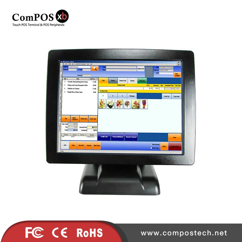 Factory Directly Supply All In One Pos System 15 Inch Tft Led Cash Register Pos Terminal Restaurant Pos Device Aff Computer Peripherals Computer All In One Pc