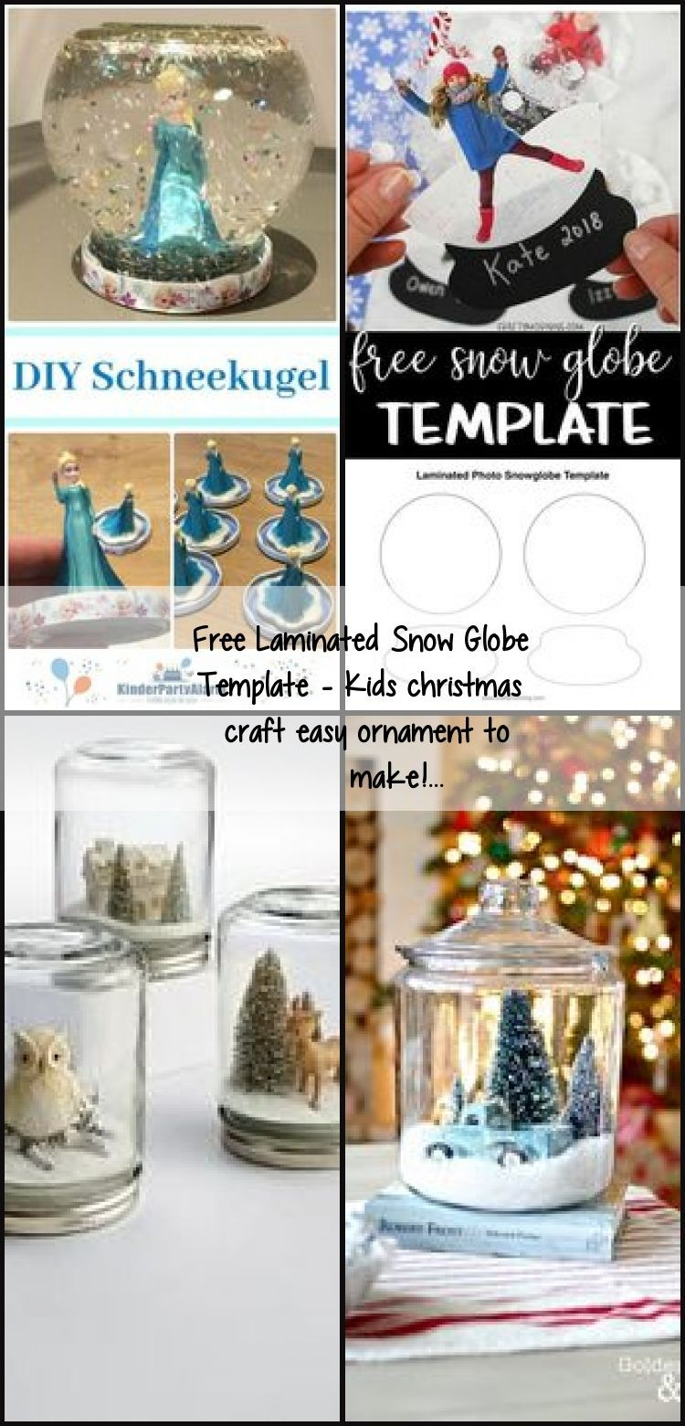 christmas crafts snow globes #christmascrafts #christmas Free Laminated Snow Globe Template - Kids christmas craft easy ornament to make!..., #diychr... - #christmas #craft #diychr #easy #Free #Globe #Kids #laminated #Ornament #Snow #Template