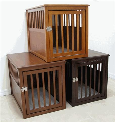 Crown Eco-Friendly Dog Crate Table | Dog Houses