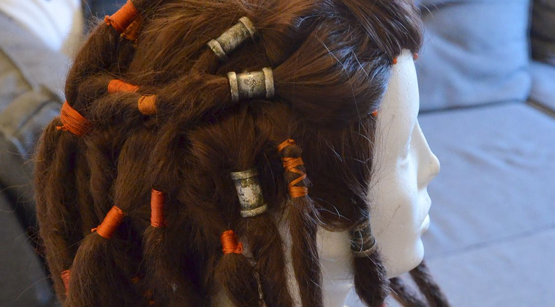 Tutorial: How to make dreadlocks on a wig | Dreadlock wig ...