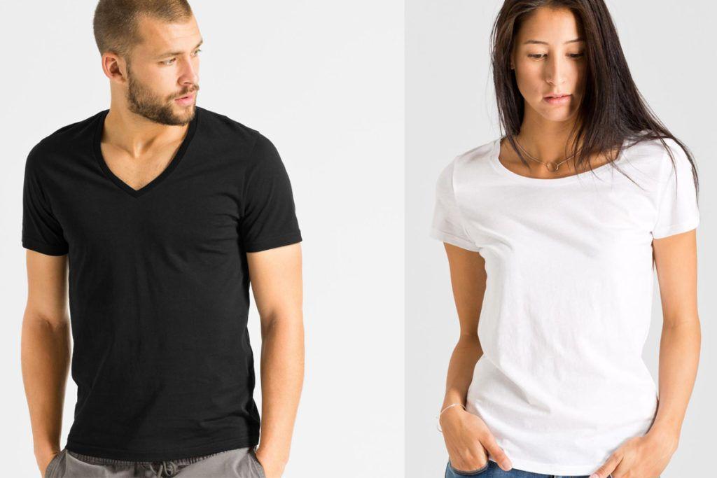 T-Shirts und Tops: 9 faire Labels für günstige Basics ...
