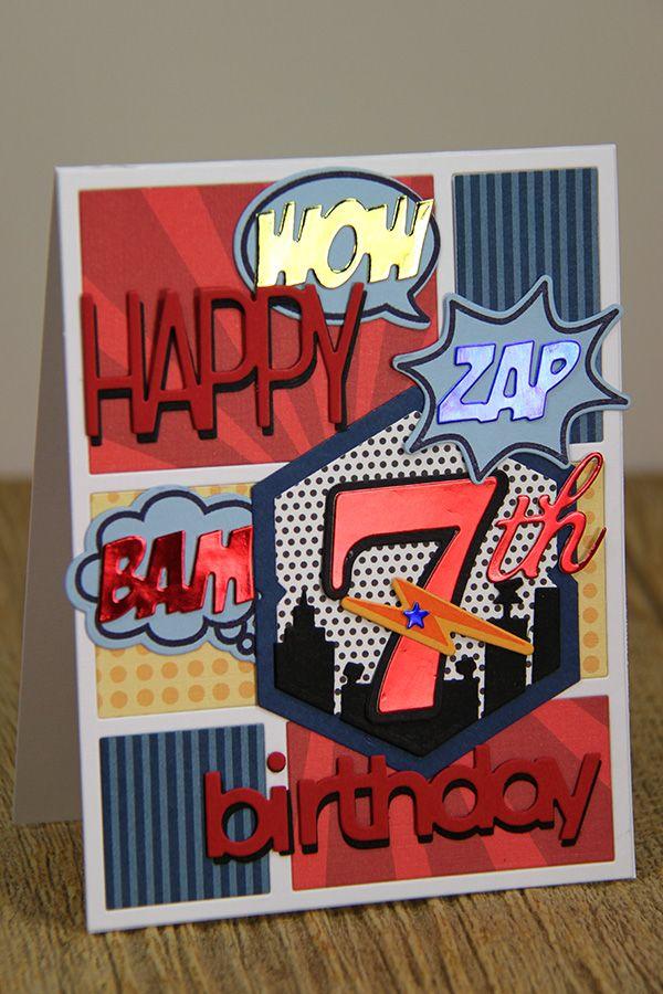 7th birthday comic strip card by erin lincoln for papertrey ink 7th birthday comic strip card by erin lincoln for papertrey ink january 2015 m4hsunfo