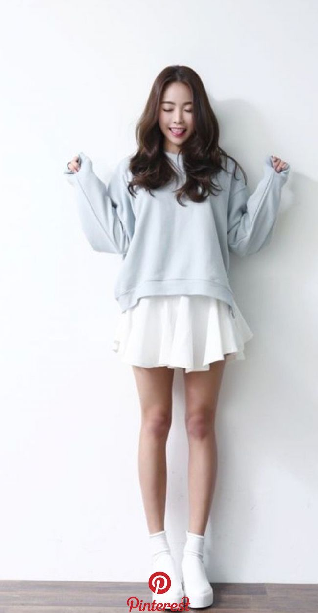 cutekoreanfashion  Clothes in 8  Pinterest  Fashion, Korean