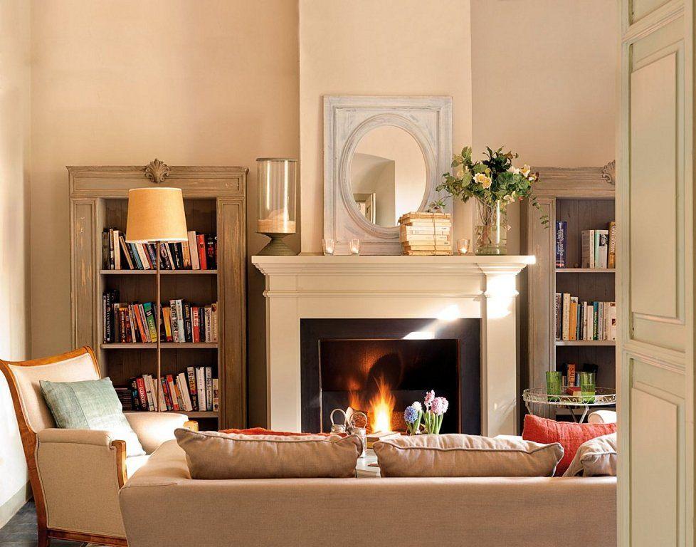 Chimeneas de estilo cl sico renovado blog - Poner chimenea en casa ...