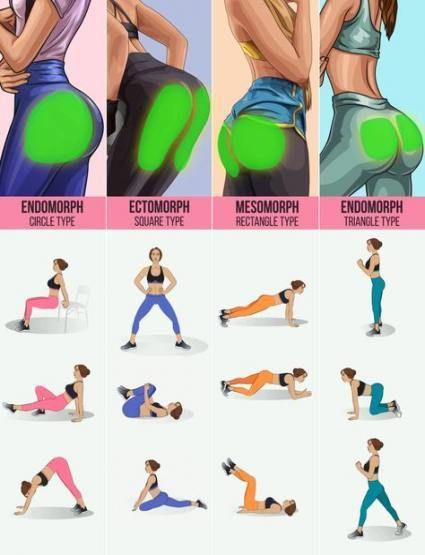 26+ Ideas for fitness goals for women body types exercise #fitness