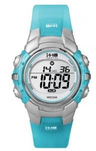89d6c5958 Timex Women's T5K460 1440 Sports Blue Resin Digital Watch | Citizen Watches  For You And Her