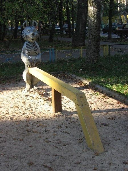 19 Playgrounds That Will Haunt Your Worst Nightmares Playground
