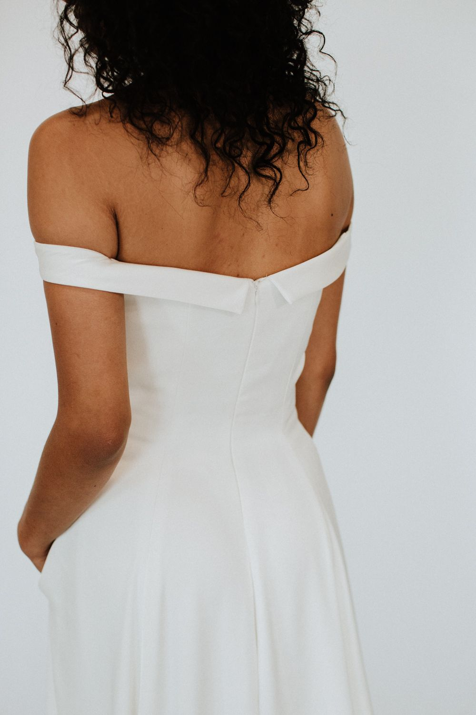 Modern handcrafted wedding dresses made in milwaukee savannah