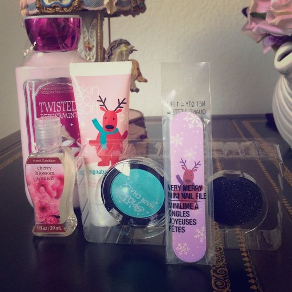 Body care bundle gift set Bath & bodyworks , Avon , hair chalk Avon Other