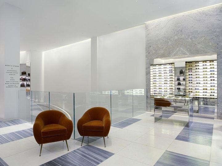 Retail Store Design   Furniture   Visual Merchandising   Branding    Materials   Lighting   ECO. Barneys Store, San Francisco U2013 California