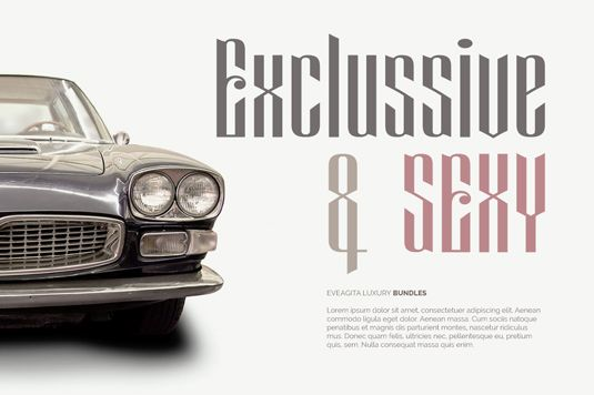 Font of the day: Eveagita Luxury | Typography | Creative Bloq