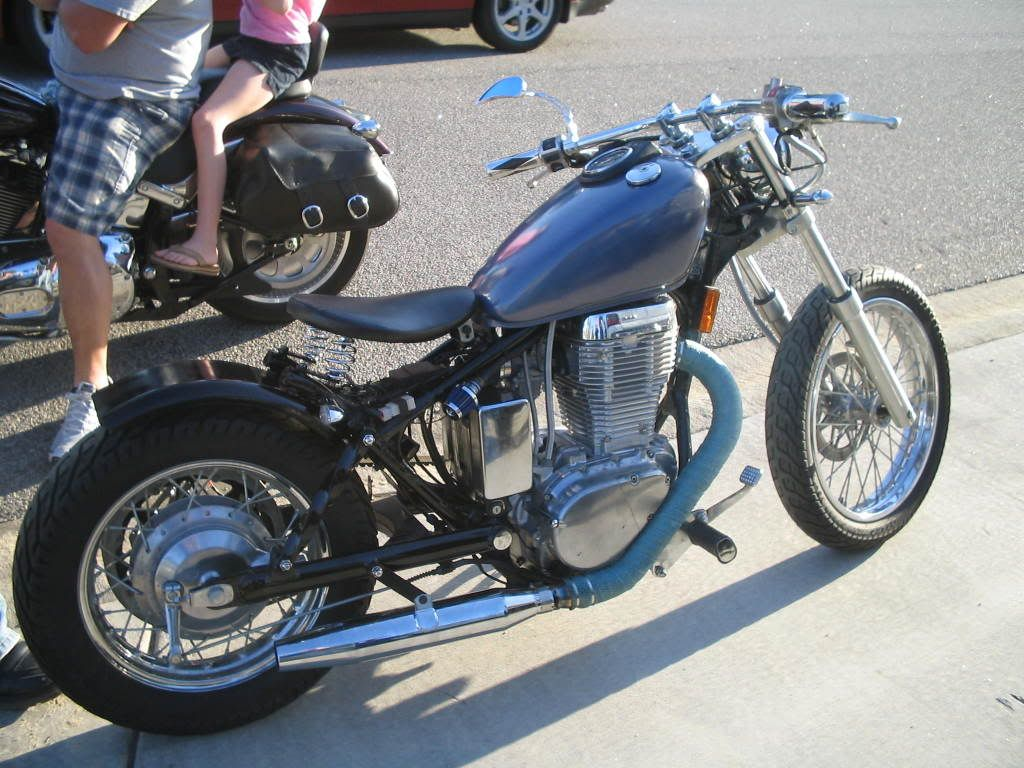 suzuki s40 brat | machine-13 | suzuki café racers, scramblers and