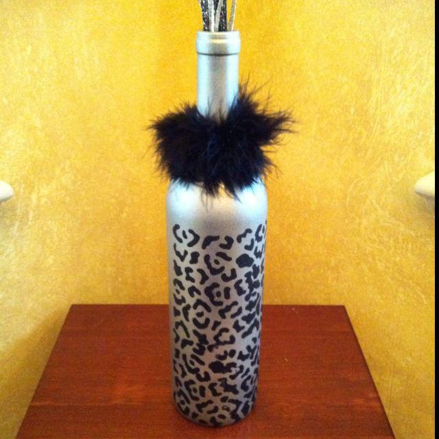 Leopard Vase Arrangement