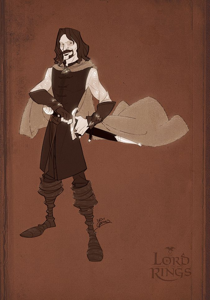 Aragorn by levi-gomes.deviantart.com