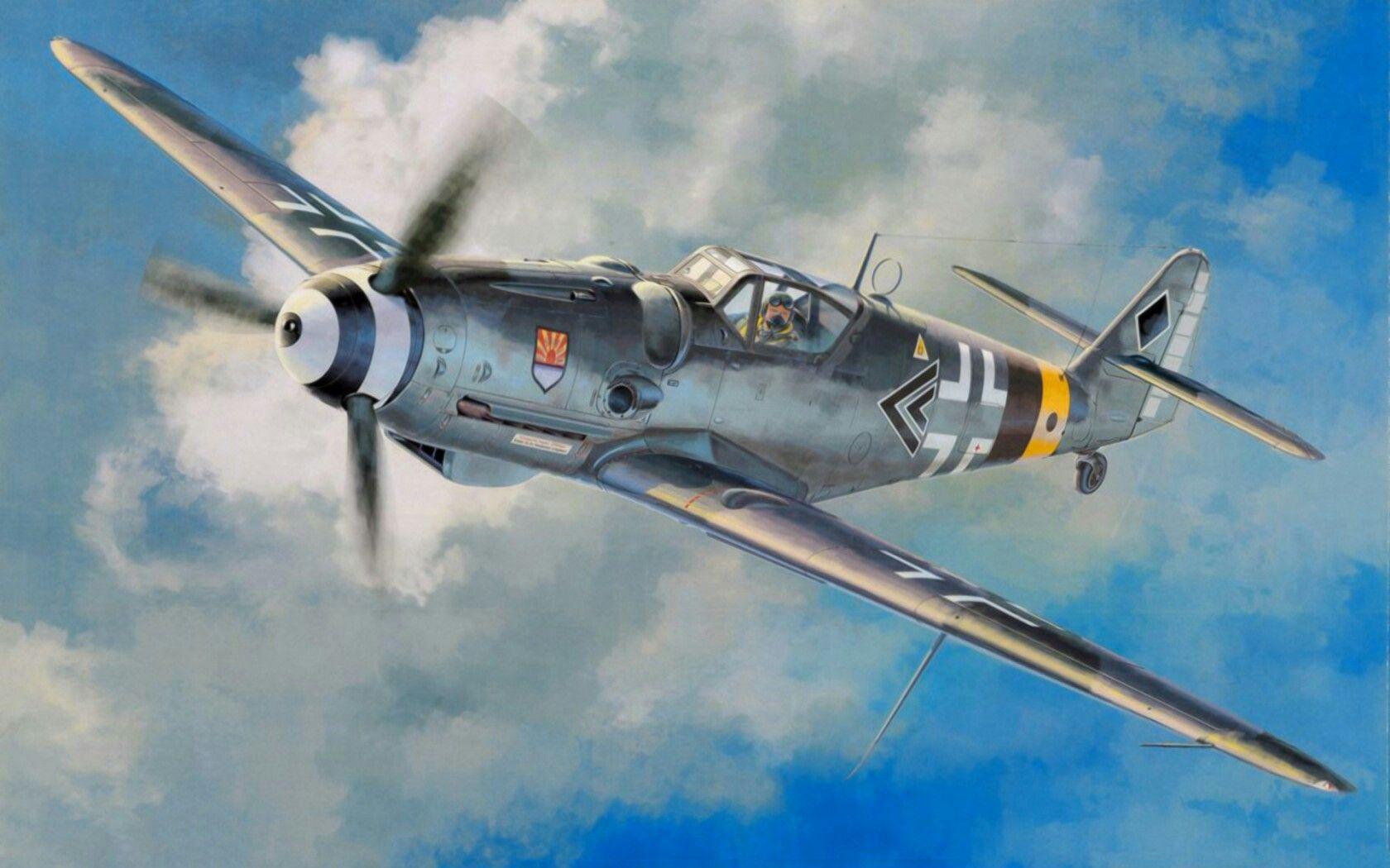 Hasegawa 1//32 Luftwaffe Messerschmitt Bf109G-6 Plastic ST17 Japan
