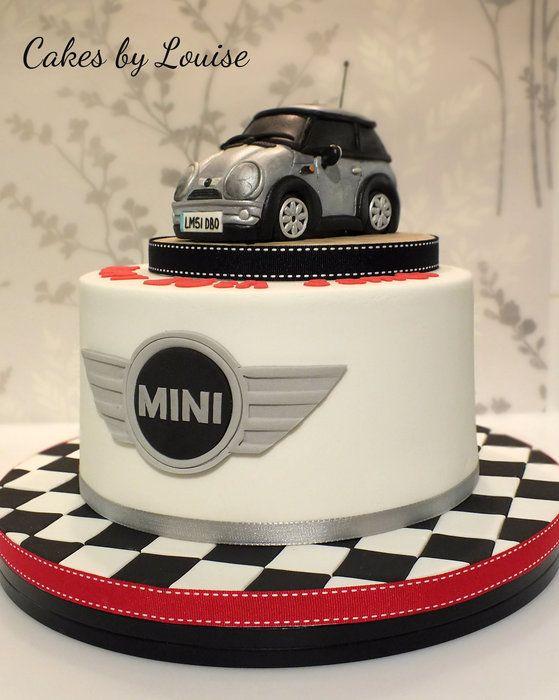 Mini car by cakesbylouise CakesDecorcom cake decorating