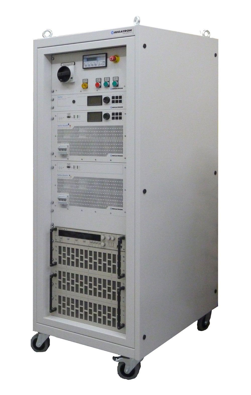 2 quadrant unit 40 kw from regatron ag locker storage for Simulatore arredamento