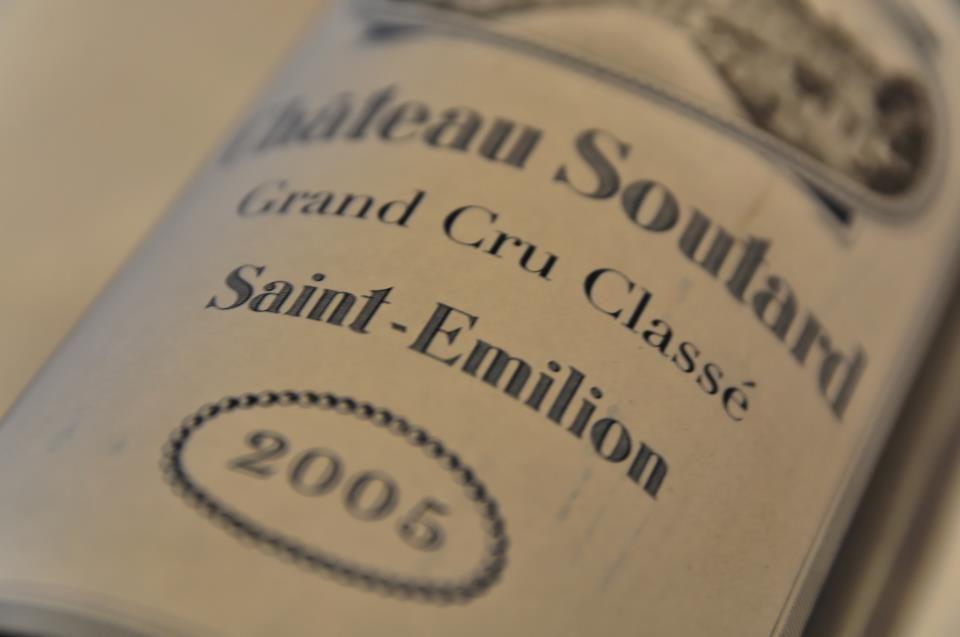 Château Soutard, Grand Cru Saint Emillion 2005 !