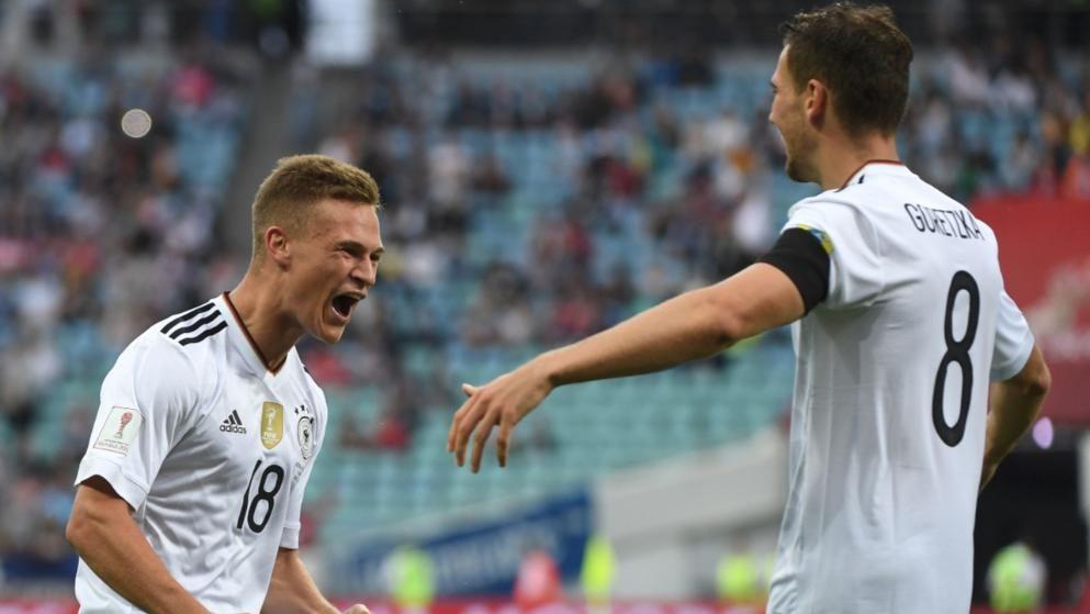 Australien Deutschland 2 3 Leno Patzt Beim Ersten Sieg Deutsche Nationalmannschaft Fifa Kimmich