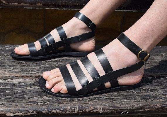 b3967a8d525 Gladiator Men Sandals  2018 sandals  Gift For Men  leather
