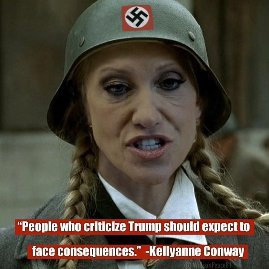 Image result for Kellyanne Conway Attempts Humor On Twitter & Gets Mocked Like An Idiot