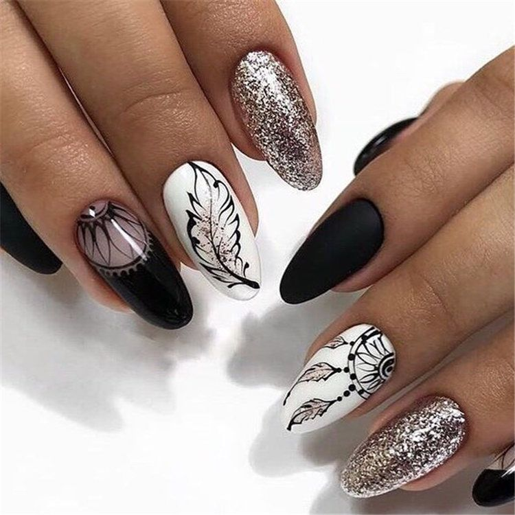2019 2020 Most Popular Color Mixing Nail Art Page 92 Of 105
