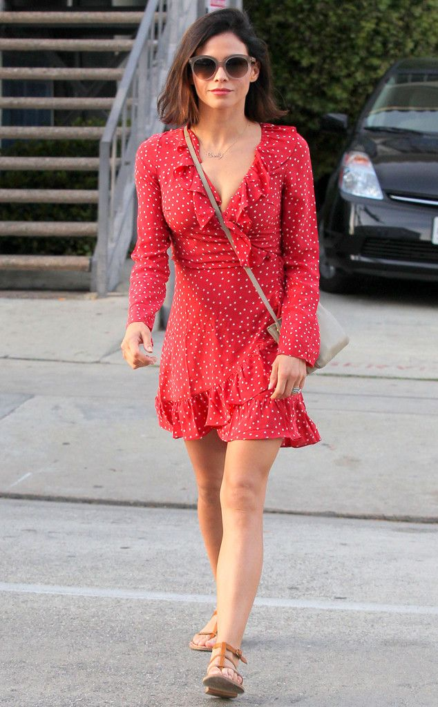 193fdce99920 Jenna Dewan-Tatum from The Big Picture  Today s Hot Pics Red hot! The  actress is spotted in a sexy red dress while out and about in West  Hollywood.
