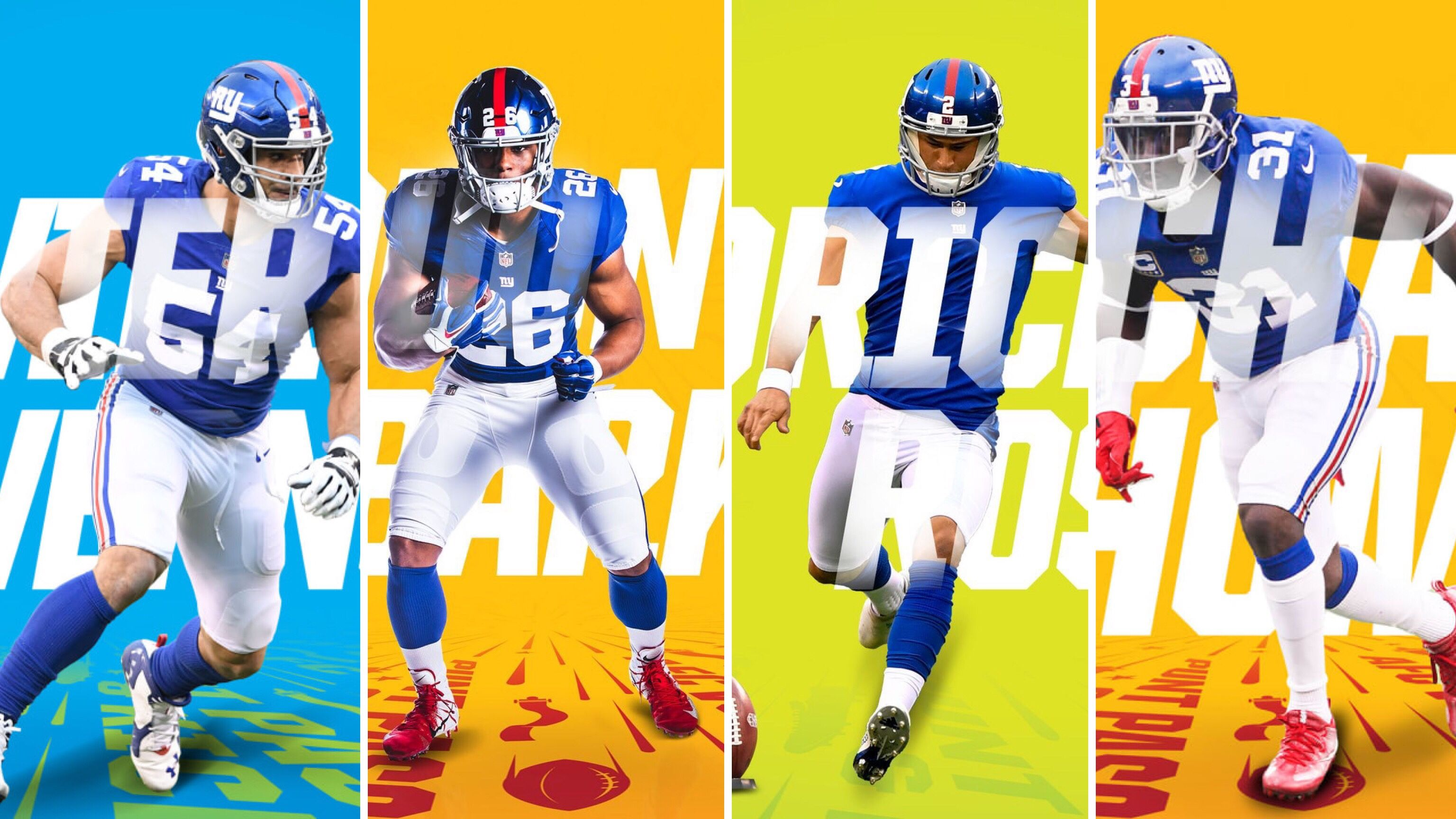 2019 Pro Bowl Selections For The New York Giants New